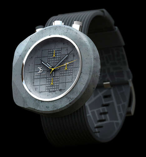Sturdy Concrete Watches