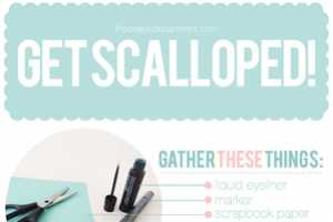 The Beauty Department Scalloped Eyeliner Guide is Adorable