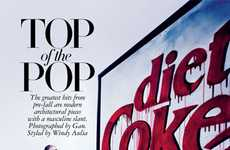 Brand Name Parody Pictorials - Top of the Pop by Gan for Harper's Bazaar Singapore Mocks Pop Culture