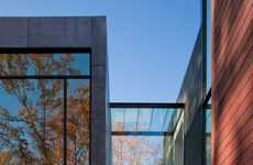 Secluded Autumn Abodes - The 'Wissioming2' House by Robert M. Gurney Architects is Spectacular