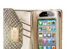 The Michael Kors Wallet Clutch for iPhone 4S Holds All Essentials