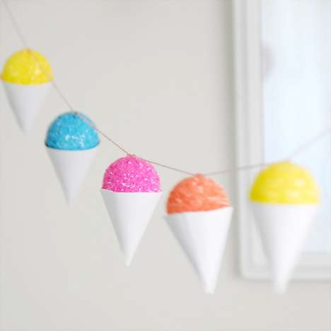 Snow Cone Party Decorations