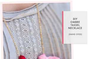 The 'Oh the Lovely Things' Tassel Necklace is Very Stylish