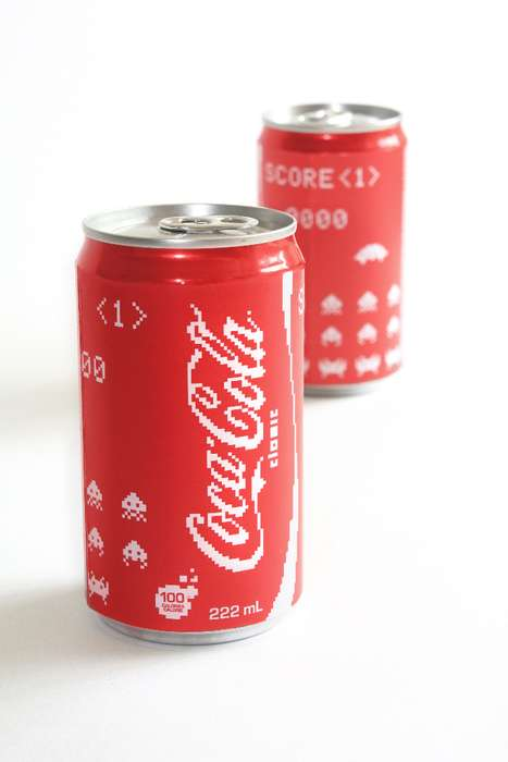 Space Invaders Cans