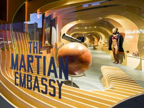 Martian Embassy by LAVA