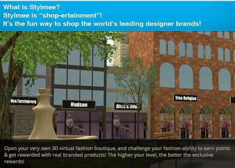 Boutique Simulation Games - Stylmee Lets Users Curate & Sell Fashion Products in a Virtual Store