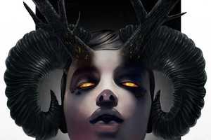 Rob Shields Paints Beautiful Women with Nightmarish Features
