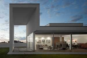 The Aradas House by RVDM Architects is Minimalist and Boxy