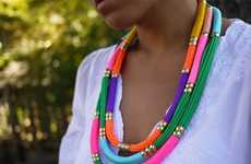 Friendship Necklace Tutorials - Learn How to Make These DIY Utility Rope Necklaces by Honestly Wtf