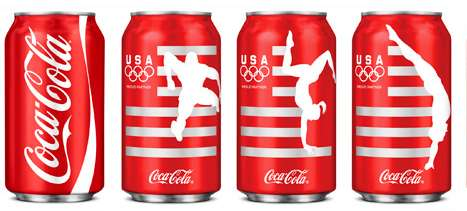 collectible coke cans