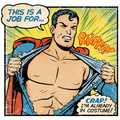 Costumeless Comic Book Heroes - These Kerry Callen Parodies Would Be Super Embarrassing