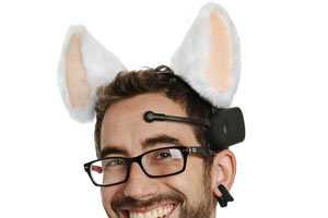 The Necomimi Brainwave Cats Ears are Strange