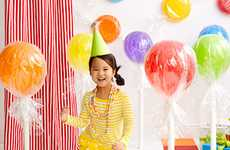 DIY Jumbo Lollipop Decorations - The 'Trendy Tree' Blog Shows How to Make Affordable Party Accents