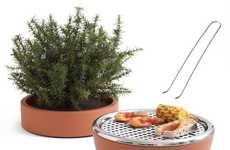 Potted Plant Grills
