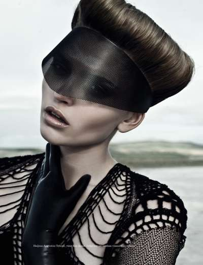 Tamni Vilajet August 2012 Editorial for Elle Serbia