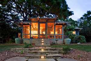 The 'Tree House Porch' by John Grable Architects is Divine