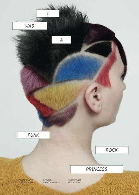 punk hairdos, rock styles, cuts hair dye, trendy, rockers