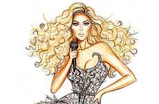 Hayden Williams Depicts Stylish Stars in Impressive Drawing Series