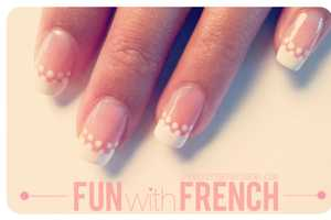 The Beauty Department 'Fun with French' Tutorial is Cute