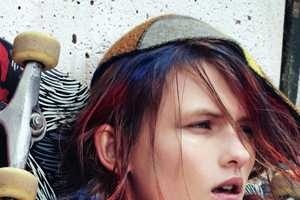Dazed & Confused's 'She Was a Skater Girl' Editorial is Dishevelled
