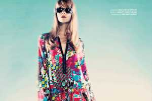 Westeast Magazine's 'Psychedelic Lover' Editorial Has a Twiggy Appeal