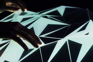 'Light Form' Interactive Landscape by Mathieu Rivier is Riveting