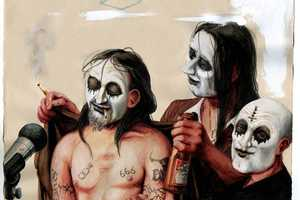 Russell Nachman Depicts Subjects with KISS-Style Visages