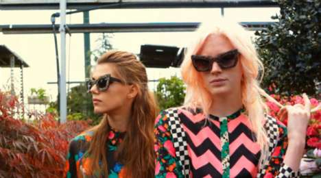 MSGM 2012 fall/winter video lookbook