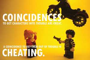 The 'LEGO-fied Pixar Story Rules' Posters are Wise