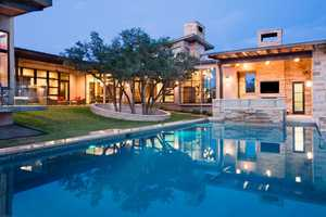 Spanish Oaks by James D LaRue Architects is Welcoming