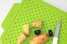 Pegged Chopping Boards - The Pego Cutting Board Keeps Fingers Away from Sharp Blades
