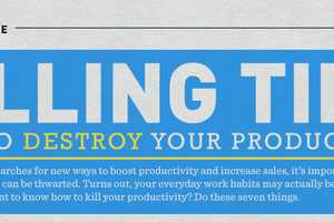 The 'How to Destroy Your Productivity' Infographic is Perceptive