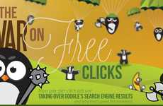 Scandalous Search Result Infographics - The 'War On Free Clicks' Reveals Hidden Secrets to Traffic