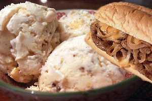 The Philadelphia CheeseSteak Ice Cream is Sweet and Savoury