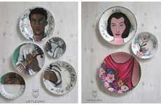 Puzzle Piece Plates