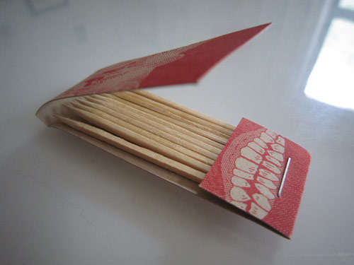 Matchstick-Holding Business Cards