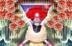 Floral Religious Ediorials