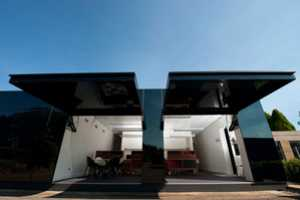 The Tina Tziallas Architecture Studio 'Black Box Office' is Slick