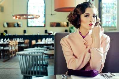 Elegant Vintage Bob Editorials - The 1920s Series by Lenne Chai Recreates Looks of the Early Decades