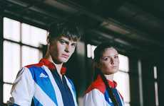 Grungy Olympic Editorials - The 2012 Dazed & Confused Fashion Feature Highlights Patriotic Styles
