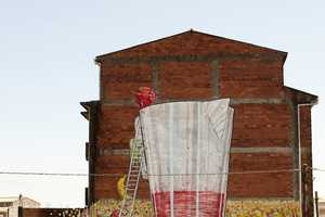 The New Murals by Blu are Located in Ordes, Spain