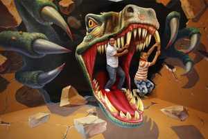 The Magic Art Special Exhibit Encourages Playful Antics