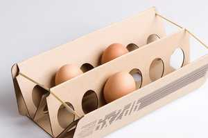 The Éva Valicsek Egg Carton Cracks the Standard Mould
