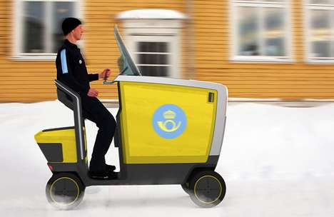 Posten Pod Mail Delivery Vehicle