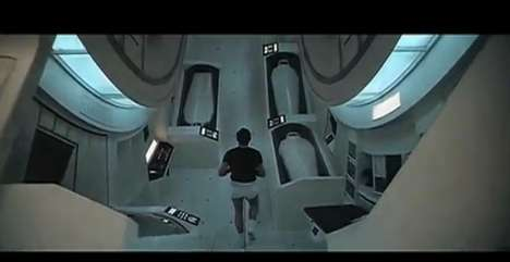 Revamped Galactic Trailers - The 2001: A Space Odyssey Recut is an Updated Take on Blockbusters