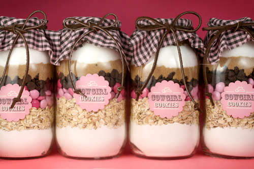 DIY Cookie Recipe Jars