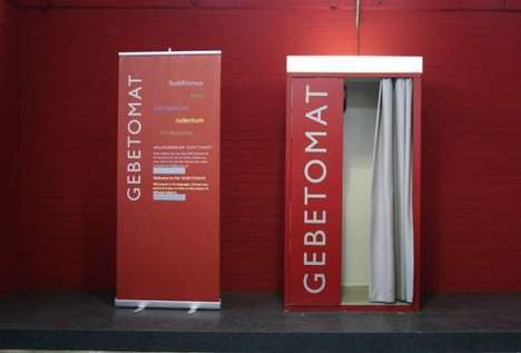 Religious Prayer Booths - The 'Pray-O-Mat' Lets You Get Your Praying in on the Go