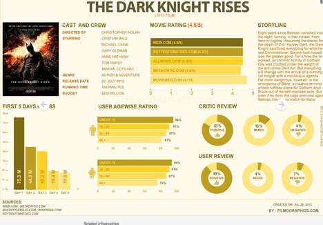 Dark Knight Rises Infographic