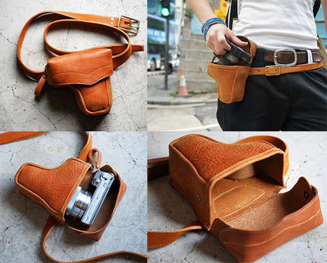 Weaponized Camera Cases - The Gun Holder Camera Case Lets You Shoot in Style