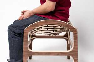 The Caterpillar Stool Delivers Unexpectedly Forgiving Support